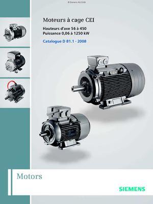 Calam 233 O Catalogue Moteur Siemens
