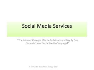 Kim Randall - Social Media Strategist - Media Kit