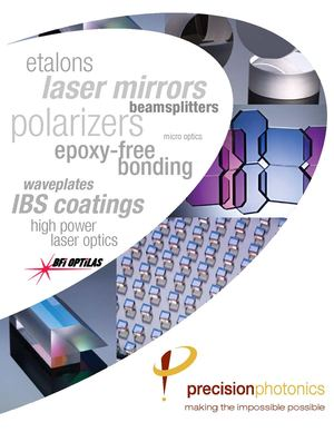 Optical Components Catalogue 2011 - Precision Photonics