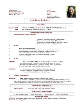 Calaméo   CV Controleur Gestion