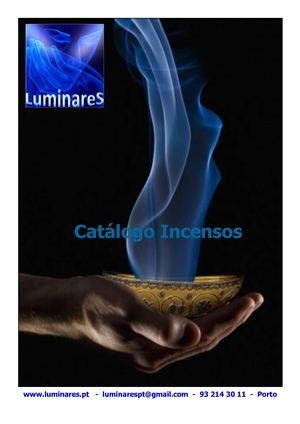 Catalogo Incensos Luminares