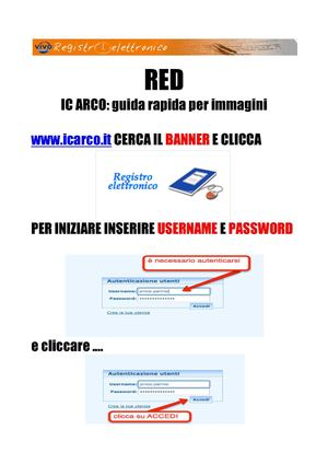 IC ARCO: guida rapida al Red