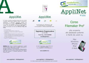 Corsi Filemaker 11 in Toscana - Applinet