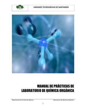Calaméo - Manual de Laboratorio de Química Orgánica