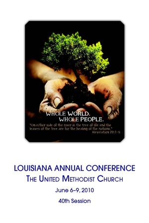 Louisiana Annual Conference Journal 2010