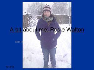 calaméo powerpoint presentation about myself