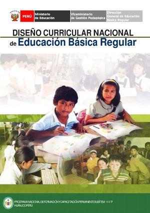 Calam o dise o curricular nacional primaria for Diseno curricular primaria