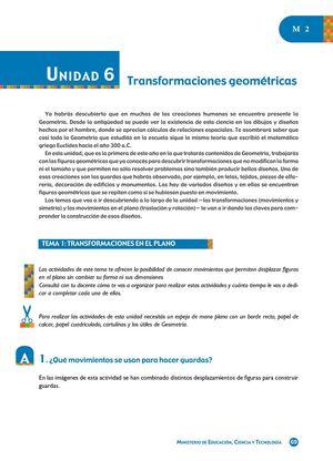Calaméo - TRANSFORMACIONES GEOMÉTRICAS
