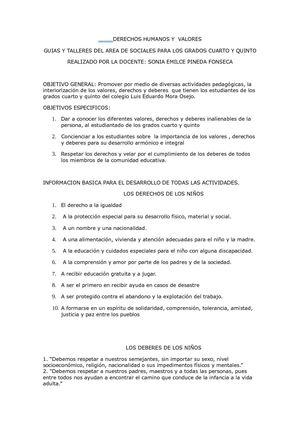 Calaméo - guias y evaluaciones sociales 4 y 5 de primaria