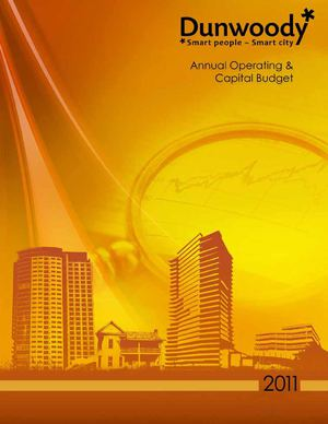 City of Dunwoody, GA FY2011 Annual Operating and Capital Budget