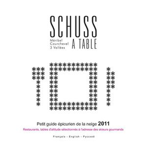 Schuss a Table Hiver 2010/11