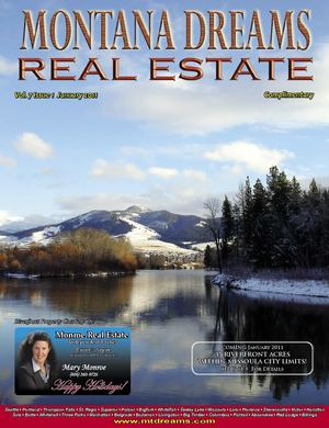 Montana Dreams Magazine - Missoula Region January 2011