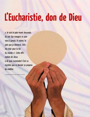 L'Eucharistie, don de Dieu