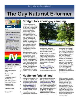 The Gay Naturist E-former: January 2011
