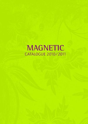 Catalogue Magnetic