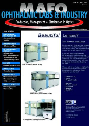 MAFO 2011 Issue 01 - Ophthalmic Labs & Industry -