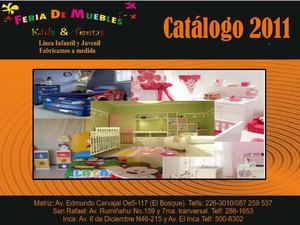 FERIA DE MUEBLES KIDS AND TEENS