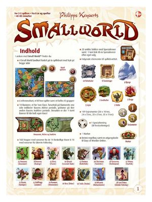 small world regler DANSK