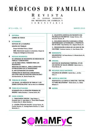 Vol 11 nº3 Mar 2010