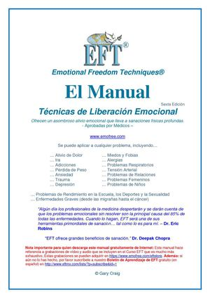 Calaméo Eft Manual De Técnicas De Liberación Emocional