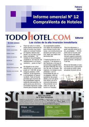Calaméo - Informe Comercial Compra Venta de Hoteles Nº 12 083f2f5f6066