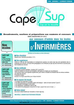 Calameo Cape Sup I Prepa Infirmiere