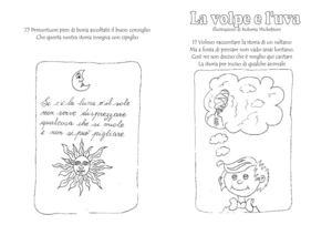 Calameo Storia Da Colorare La Volpe E L Uva