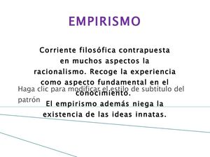 empirismo ( locke, hume, Berkeley)