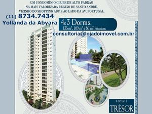 royale tresor santo andre apartamentos ao lado do shopping abc royale noble residence