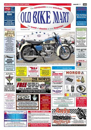 Old Bike Mart - March 2011