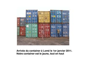 Container 2010 Agora France Togo Bénin (ancien)