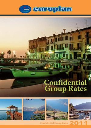 Europlan - Confidential Group Rates - 2011