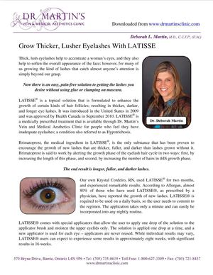 Grow Thicker, Lusher Eyelashes With LATISSE