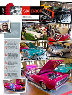 The Middy's P76 featured in Street Machines Magazine March 2011
