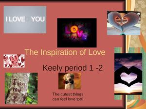 The Inspiration of Love