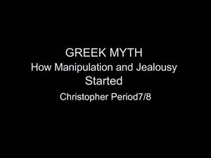 How Manipulation and Jealousy Started by Christopher