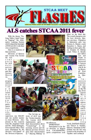 STCAA FLASHES 6th  Issue(Final)