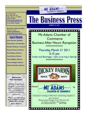 The Business Press 3/16/2011