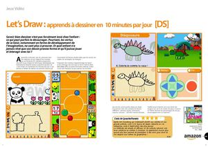 Let's Draw : apprends à dessiner en 10 minutes par jour [DS]