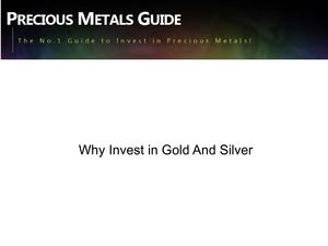 Why invest in gold and silver
