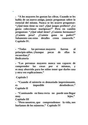 Calaméo Frases Del Principito