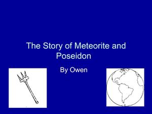 The story of Meteorite and Poseidon by owen sh