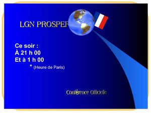 Conference LGN- French Neen