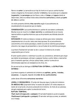 Calaméo Los Textos Narrativos Andrea