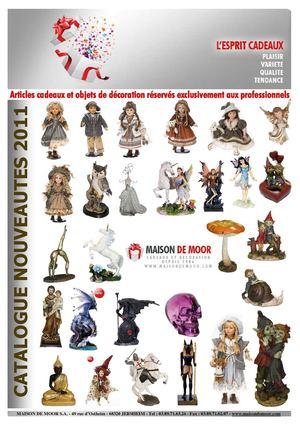 Calaméo   Catalogue grossiste cadeaux décoration Maison DE MOOR S.A.