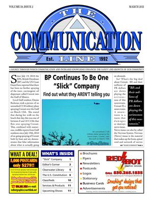 The Comm Line - March 2011