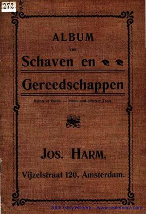 Catalogue Josharm 1900