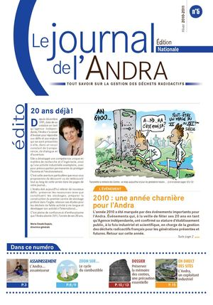 Le Journal de l'ANDRA - Edition Nationale n°5