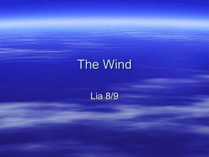 The Wind by Lia