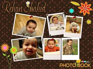 Photo Book - Rehaan Shahid